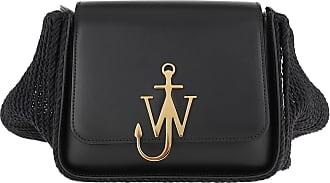 J.W.Anderson Cross Body Bags - Anchor Scarf Box Bag Black - black - Cross Body Bags for ladies