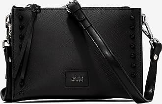 gum medium size satin stud clutch bag