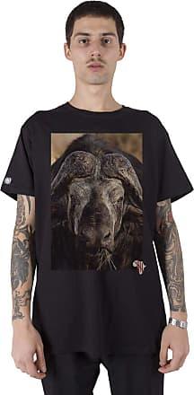 Stoned Camiseta Masculina Big Five Bufalo - Tsmbfbufal-pt-01