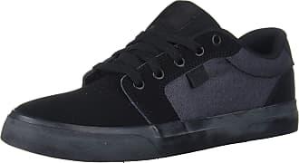 DC Mens Anvil SE Skate Shoe, Black, 6 UK