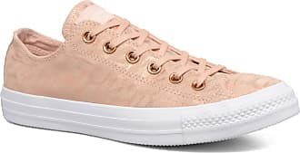 43bd8ec733f Converse Chuck Taylor All Star Shimmer Suede Ox - Sneakers voor Dames / Roze