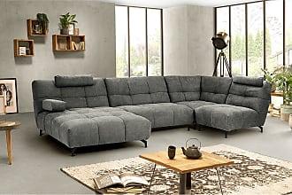 Fredriks Sofa Bellmore 1,5-Sitzer Grau Microfaser 120x91x104 cm