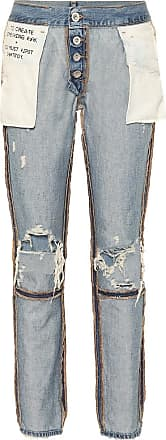 Unravel High-Rise Jeans Inside Out Reverse