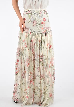 Giambattista Valli Printed Flowers Skirt size 40