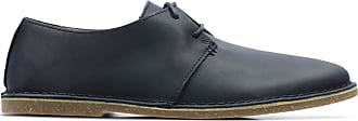 Clarks Mens Navy Leather Clarks Baltimore Lace Size 8.5