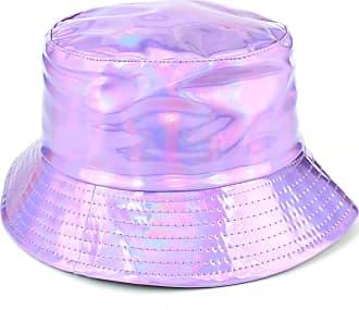 Loud Elephant Firefly Shiny Metallic Bucket Hat - Purple