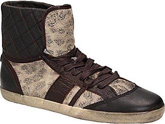 Liebeskind Liebeskind LK2027 Damen Schuh High-Top Sneaker Schnürer Leder  Braun, Schuhgröße 41 6ebab9cef0
