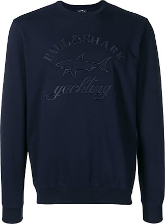 Paul & Shark embroidered logo sweatshirt - Azul