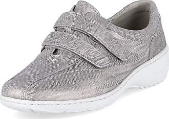 Waldläufer Lines 809731 Womens Slipper with KV 607302-133/070 Grey Grey Size: 4.5 UK