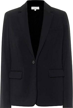 Vince Single-breasted crêpe blazer