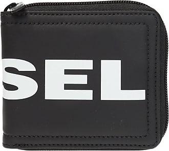 Diesel Branded Wallet Mens Black