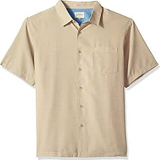 Quiksilver Waterman Mens Centinela 4 Button Down Shirt, Twill, M