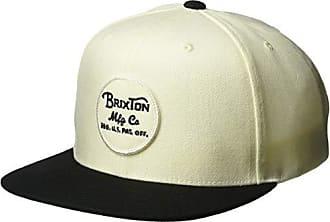 edf27a1641f Brixton Mens Wheeler Medium Profile Adjustable Snapback Hat