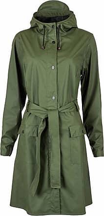 Grønn  Mac Coat Jakker  Rains  Regnjakker - Dameklær er billig