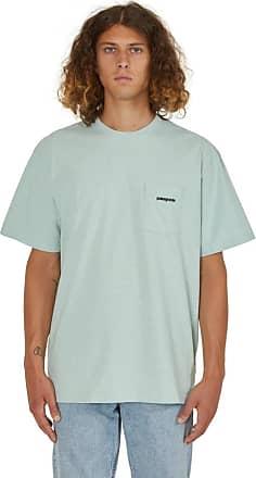 Patagonia Patagonia P-6 logo pocket responsibili t-shirt LITE DISTILLED GREEN XS
