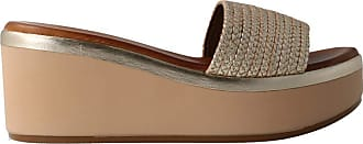 Inuovo 124006 - Womens Gold Leather Sandal Gold Size: 8.5 UK