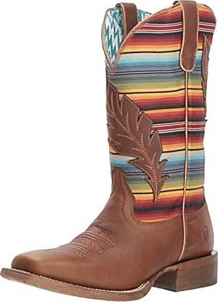 d6ccff10656 Ariat Womens Circuit Feather Western Boot Autumn Tan Size 6 C Wide Us