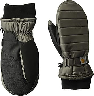 82c513b0772574 Carhartt Work in Progress Womens Quilts Insulated Mitt with Waterproofing  Wicking Insert, Charcoal, Small