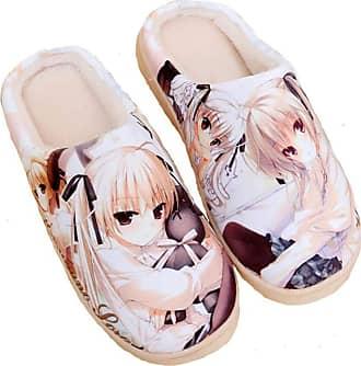 Cosstars Yosuga no Sora Anime Anti-slip Home Slippers Cute Plush Warm Indoor Shoes