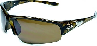 X Loop New XLoop FSB Sport Wrap Sunglasses Unisex Design UV400 Protection Medium Adult Head Size 56-59cm (tortishell frame brown lens)