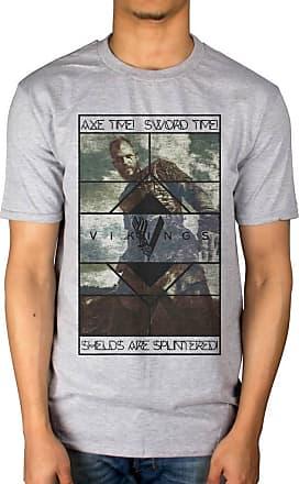 AWDIP Official Vikings Axe Time T-Shirt Grey
