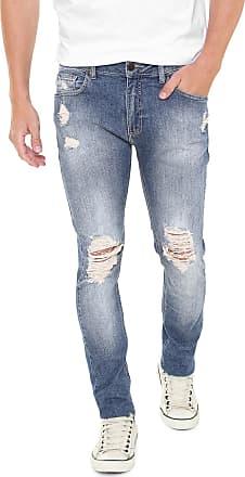 bc7fb166ef Zoomp Calça Jeans Zoomp Skinny New Rock Gabriel Azul