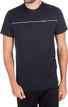 Oakley Camiseta Oakley Dyed Mark Iridium Preta