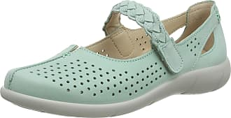 Hotter Womens Quake Wide Fit Mint Mary Jane Shoes, 6.5 UK