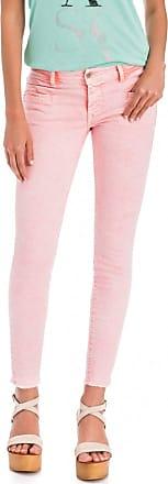 c0cd38983b Salsa Outlet Pantalones Colette Capri de Color con Cremallera