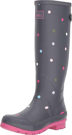 Joules WELLY PRINT, Womens Wellington Boots Wellington Boots, Grey (Grey Multi Spot), 8 UK (42 EU)