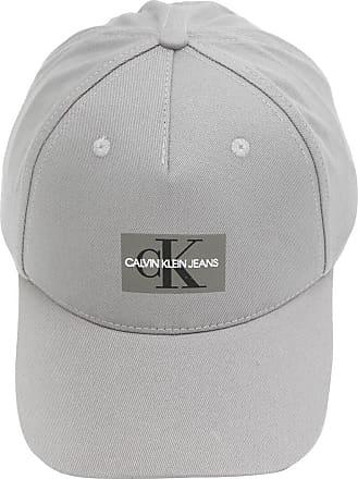 Calvin Klein Jeans Boné Calvin Klein Jeans Aplique Cinza