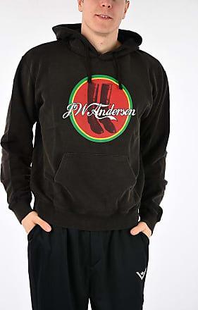 J.W.Anderson Hooded Printed Sweatshirt size L
