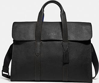 Coach Metropolitan Portfolio In Colorblock in Black