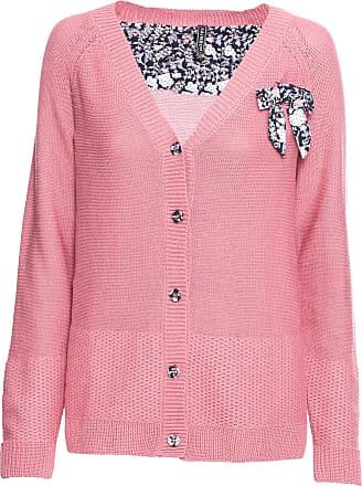 03b2a9f491607b bonprix dames gebreid vest lange mouw in pink rainbow with bonprix groe  groen damen