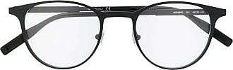 Montblanc Armação de óculos redonda - Preto