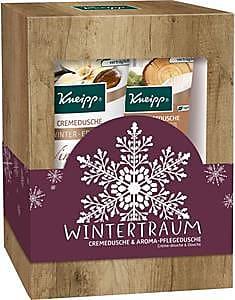 Kneipp Pflege Duschpflege Geschenkset Wintertraum Aroma-Pflegedusche Eingekuschelt 200 ml + Cremedusche Winterpflege 200 ml 1 Stk