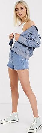 Wrangler Camicia giacca di jeans-Rosa