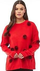 Brave Soul pom pom knit jumper