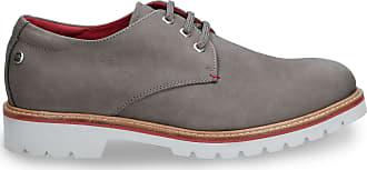 Panama Jack Mens Shoes Kalvin C3 Nobuck Gris/Grey 46 EU