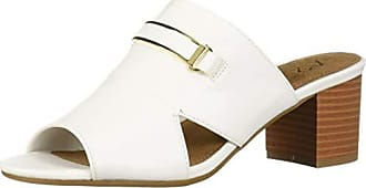 Aerosoles A2 Womens MID AIR Heeled Sandal, White, 6.5 M US