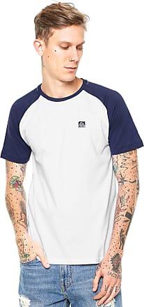 Reef Camiseta Reef Patch Branca/Azul-Marinho