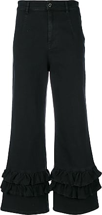 Vivetta flared cropped jeans - Black