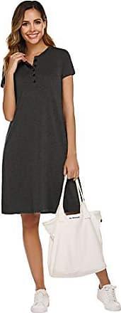 36 44 52 Freizeitkleid Shirtkleid Strandkleid Kleid Longshirt schwarz weiß Gr