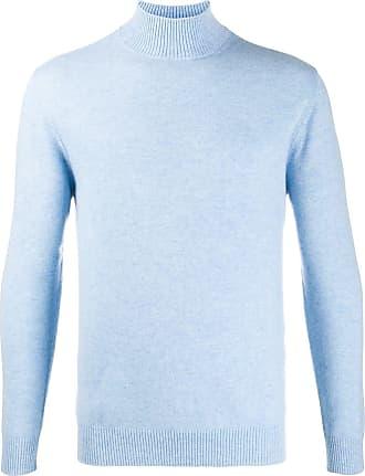 N.Peal funnel neck jumper - Blue
