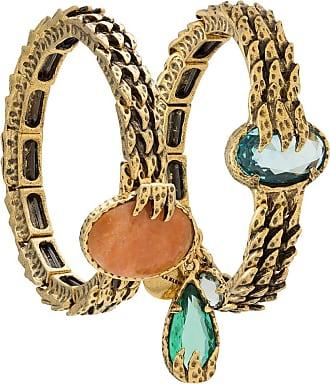 Camila Klein Kit de pulseiras Garras - Dourado