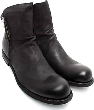 Officine Creative Mens Ankle Boots Bubble/045 Vertigo Leather Black
