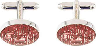 Shanghai Tang Abotoaduras Imperial Seal - Prateado