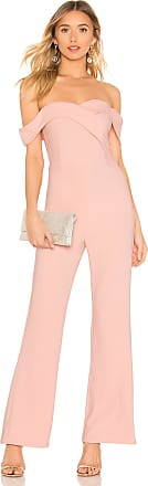 Superdown Sabrina Jumpsuit in Pink