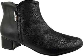 Piccadilly Ankle Boot Piccadilly Lined Preto Feminino