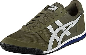 Onitsuka Tiger Ultimate 81 Mens Trainers Green Green Size: 5 UK